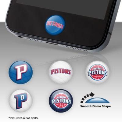 Detroit Pistons Fat Dots Stickers
