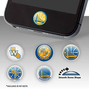 Golden State Warriors Fat Dots Stickers
