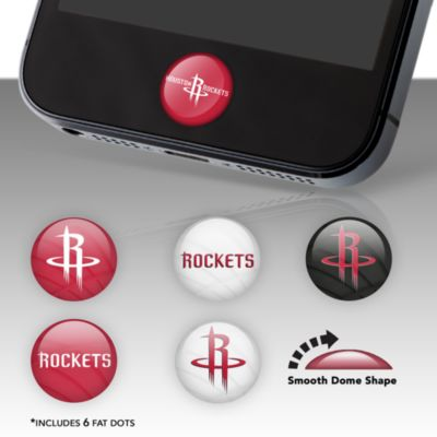 Houston Rockets Fat Dots Stickers