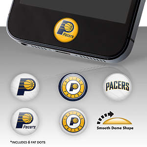 Indiana Pacers Fat Dots Stickers