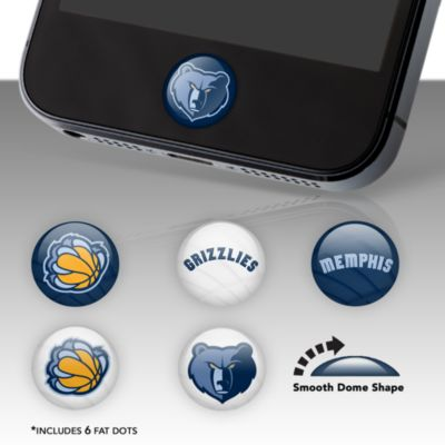 Memphis Grizzlies Fat Dots Stickers