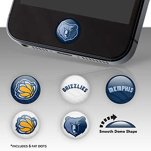 Memphis Grizzlies Fat Dots
