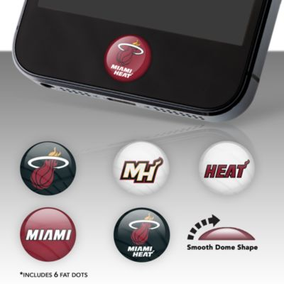 Miami Heat Fat Dots Stickers