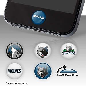 Minnesota Timberwolves Fat Dots Stickers