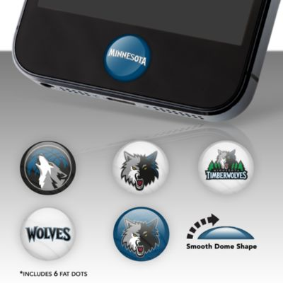 Minnesota Timberwolves Fat Dots Stickers