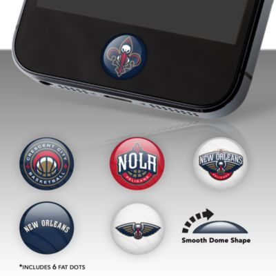 New Orleans Pelicans Fat Dots Stickers