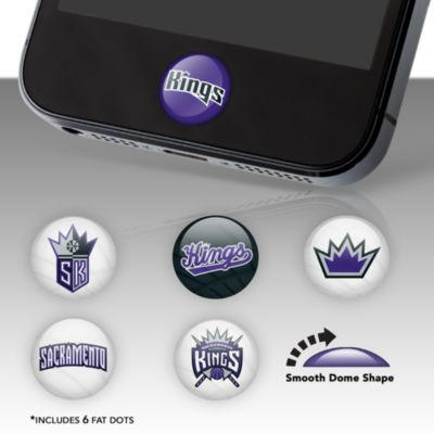 Sacramento Kings Fat Dots Stickers
