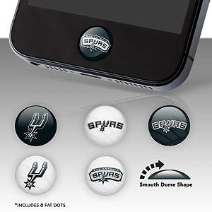 San Antonio Spurs Fat Dots Stickers