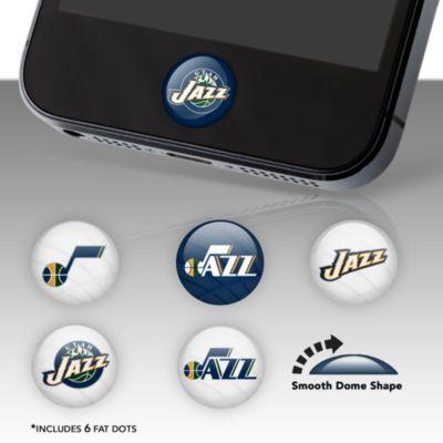 Utah Jazz Fat Dots Stickers