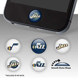 Utah Jazz Fat Dots Stickers