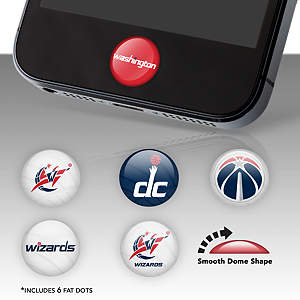 Washington Wizards Fat Dots Stickers