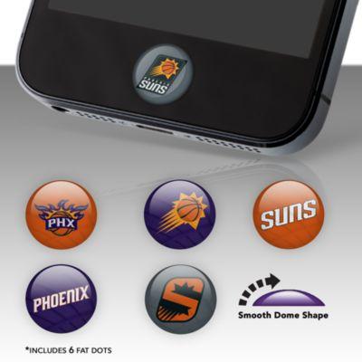 Phoenix Suns Fat Dots Stickers