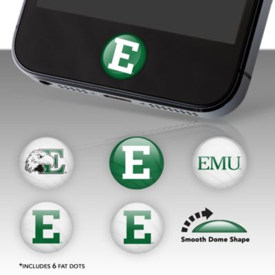 Eastern Michigan University Fat Dots Stickers