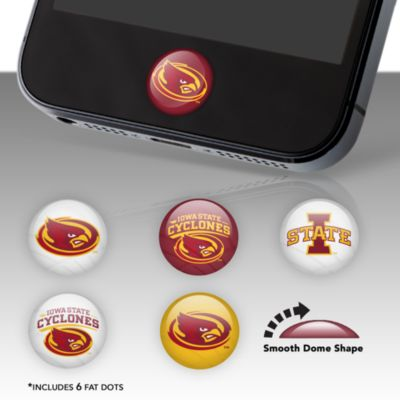 Iowa State Cyclones Fat Dots Stickers