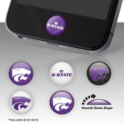 Kansas State Wildcats Fat Dots Stickers