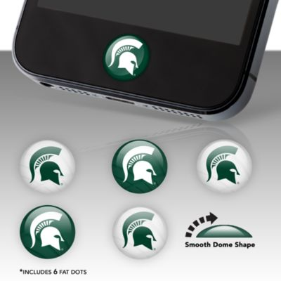 Michigan State Spartans Fat Dots Stickers