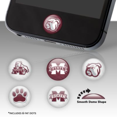 Mississippi State Bulldogs Fat Dots Stickers