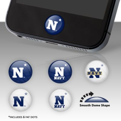 U.S. Naval Academy Fat Dots Stickers