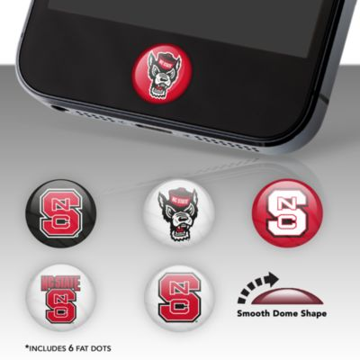 NC State Wolfpack Fat Dots Stickers