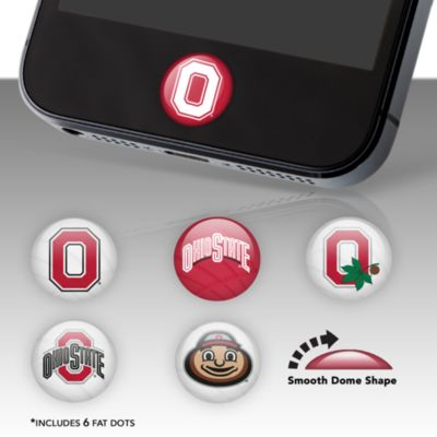 Ohio State Buckeyes Fat Dots Stickers