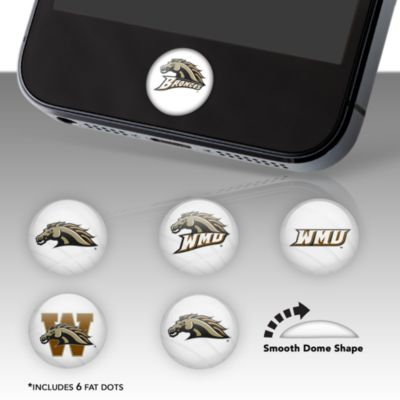 Western Michigan Broncos Fat Dots
