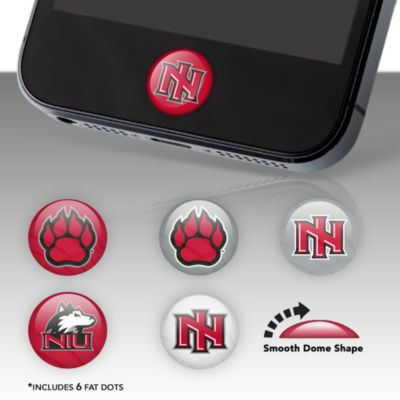 Northern Illinois Huskies Fat Dots Stickers