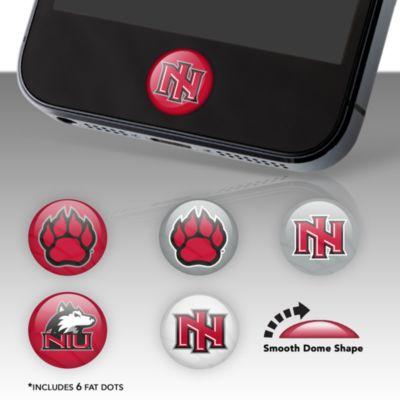 Northern Illinois Huskies Fat Dots Stickers