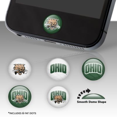 Ohio Bobcats Fat Dots Stickers