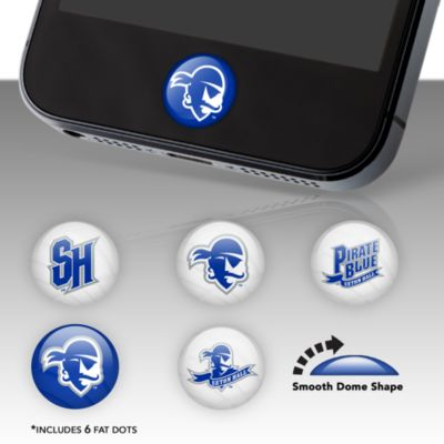 Seton Hall Pirates Fat Dots Stickers