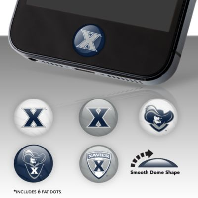 Xavier Musketeers Fat Dots Stickers