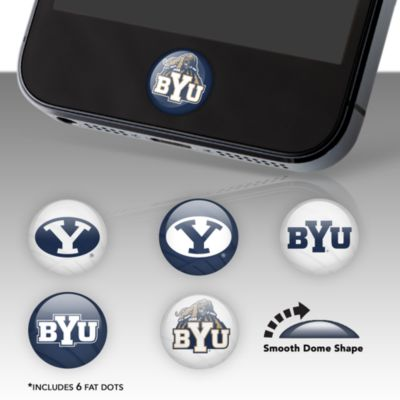BYU Cougars Fat Dots Stickers