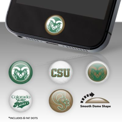 Colorado State Rams Fat Dots Stickers