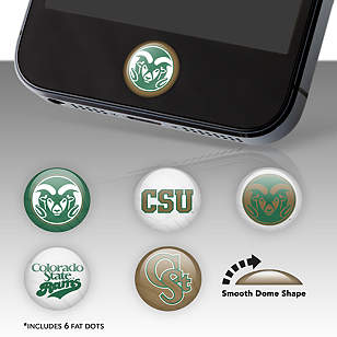 Colorado State Rams Fat Dots