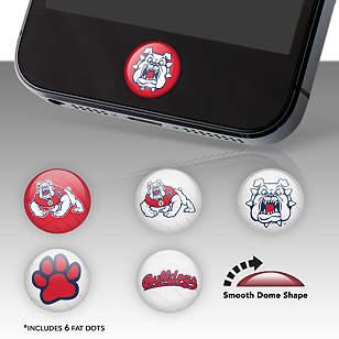 Fresno State Bulldogs Fat Dots