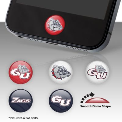 Gonzaga Bulldogs Fat Dots Stickers