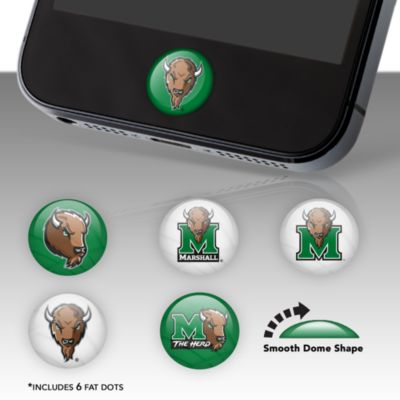 Marshall Thundering Herd Fat Dots Stickers
