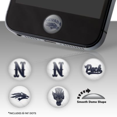 Nevada Wolf Pack Fat Dots Stickers