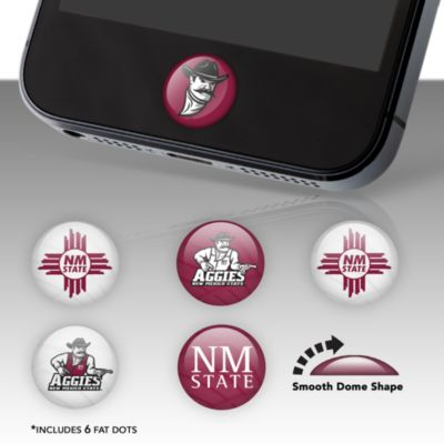 New Mexico State Aggies Fat Dots Stickers