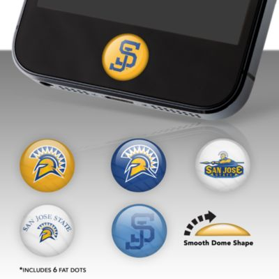 San Jose State Spartans Fat Dots Stickers