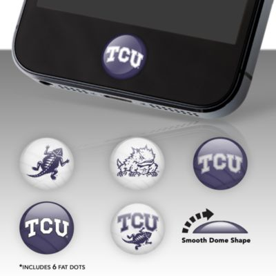TCU Horned Frogs Fat Dots Stickers