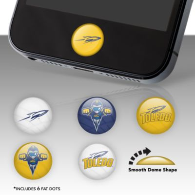 Toledo Rockets Fat Dots Stickers