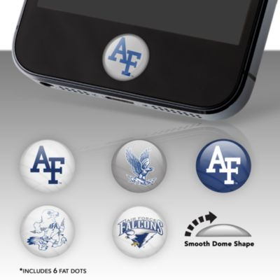 Air Force Falcons Fat Dots Stickers