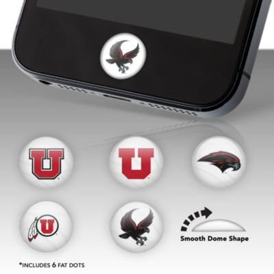 Utah Utes Fat Dots Stickers
