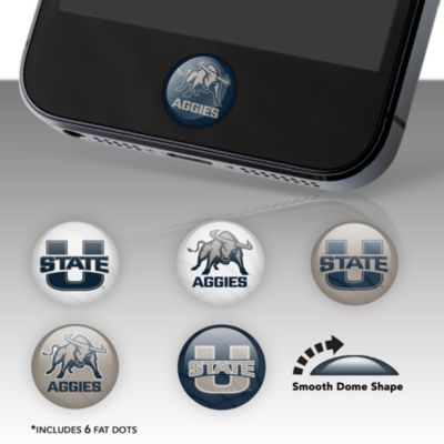 Utah State Aggies Fat Dots Stickers