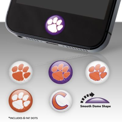 Clemson Tigers Fat Dots Stickers