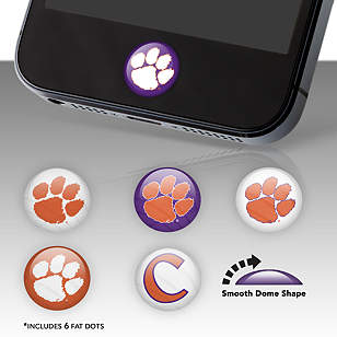 Clemson Tigers Fat Dots