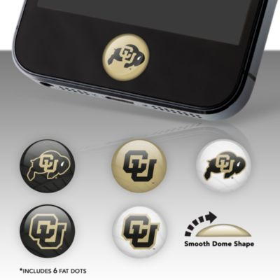 Colorado Buffaloes Fat Dots Stickers