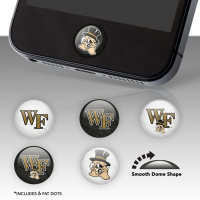 Wake Forest Fat Dots Stickers