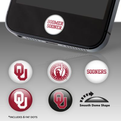 Oklahoma Sooners Fat Dots Stickers