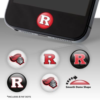 Rutgers Scarlet Knights Fat Dots Stickers